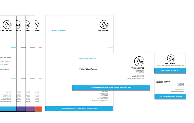 YNK Stationery Design